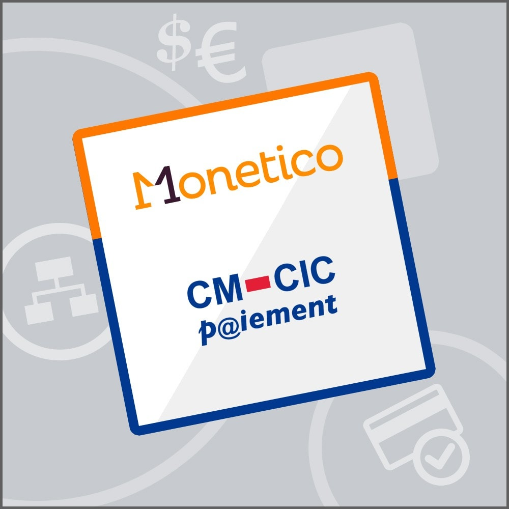 module - Payment by Card or Wallet - CM-CIC / Monetico Payment - 1