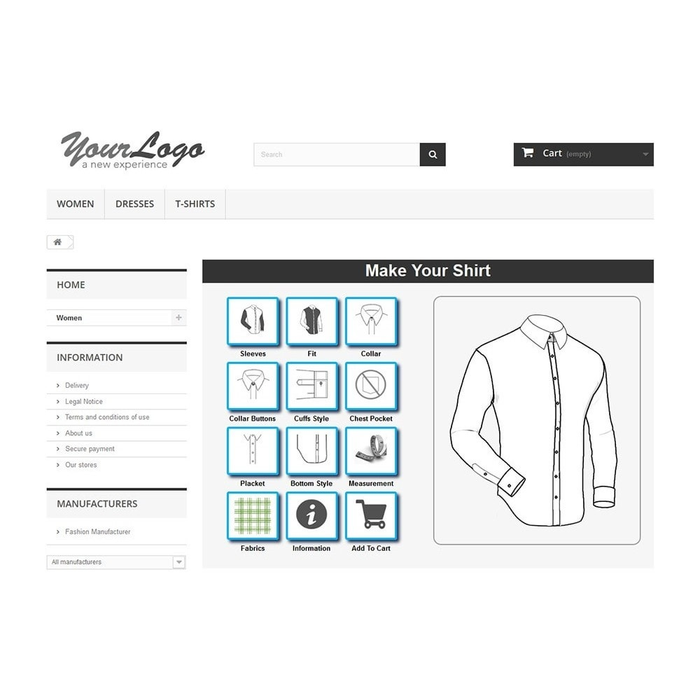 module - Combinations & Product Customization - Tailored Shirt Online - 6