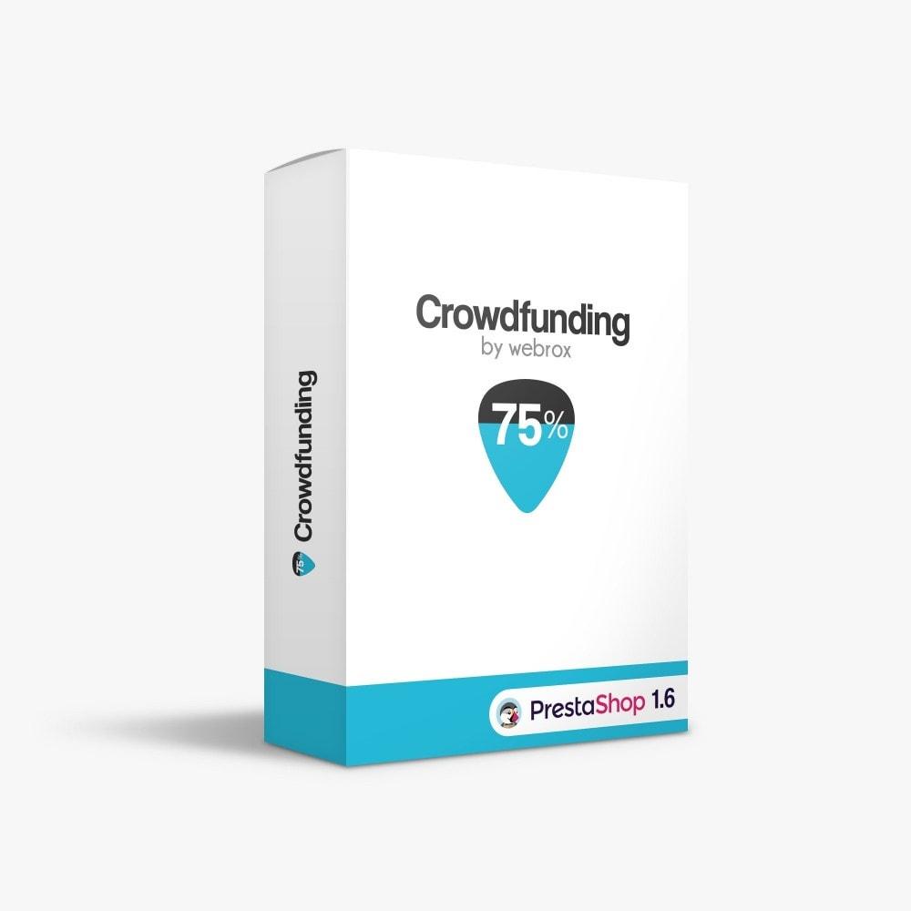 module - Altri Metodi di Pagamento - Crowdfunding - 1