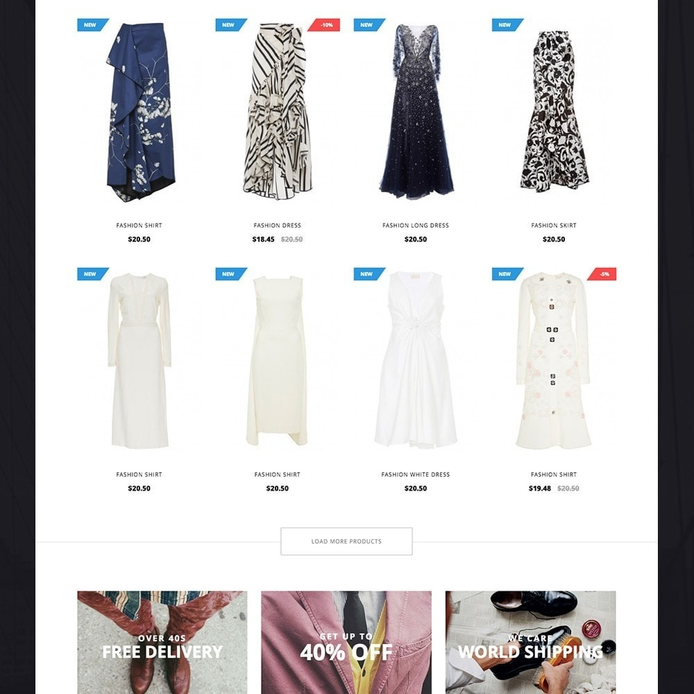 theme - Moda y Calzado - LookBook Fashion Responsive - 3
