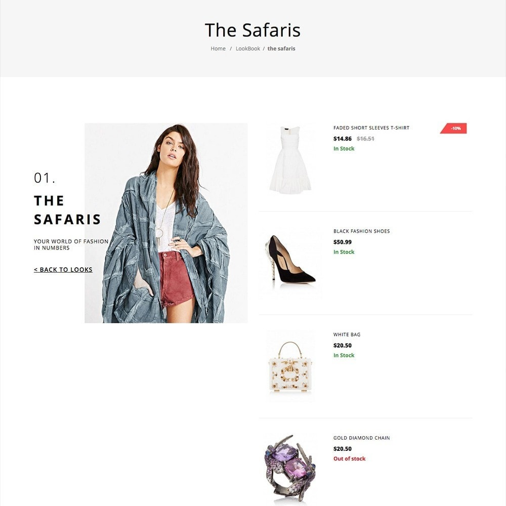 theme - Moda y Calzado - LookBook Fashion Responsive - 5