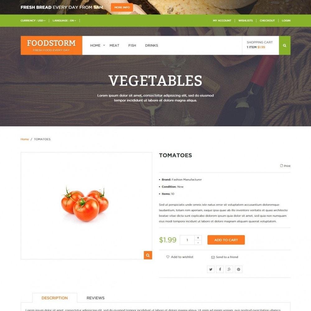 theme - Żywność & Restauracje - Sklep Spożywczy - 4