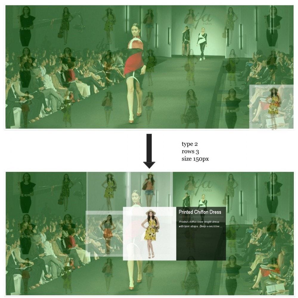module - Слайдеров (карусельных) и галерей - Proximity эффект - Лучшая презентация главной страницы - 5