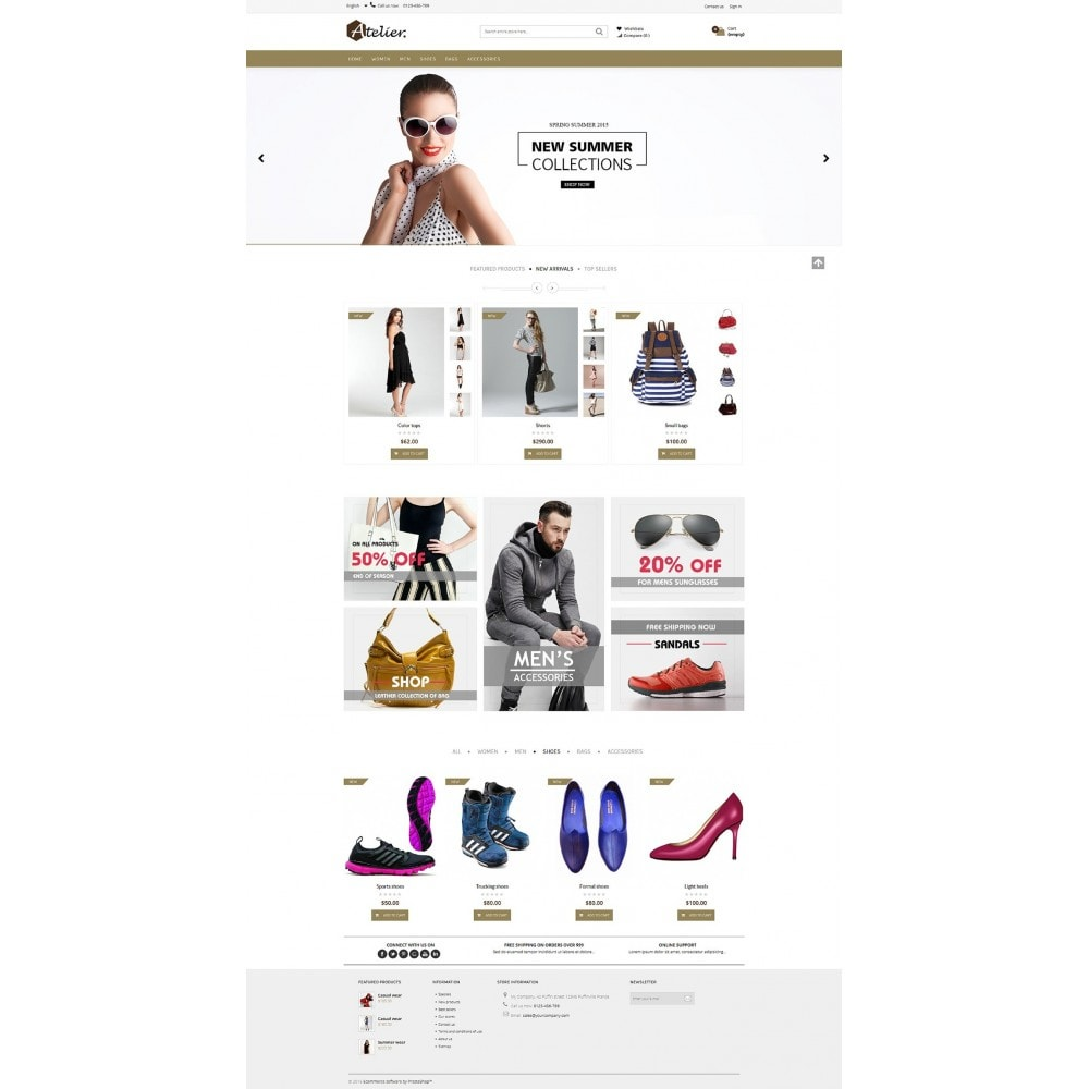theme - Fashion & Shoes - Atelier Fashion Multipurpose HTML5 - 7
