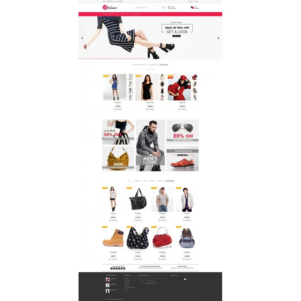 theme - Mode & Schoenen - Atelier Fashion Multipurpose HTML5 - 8