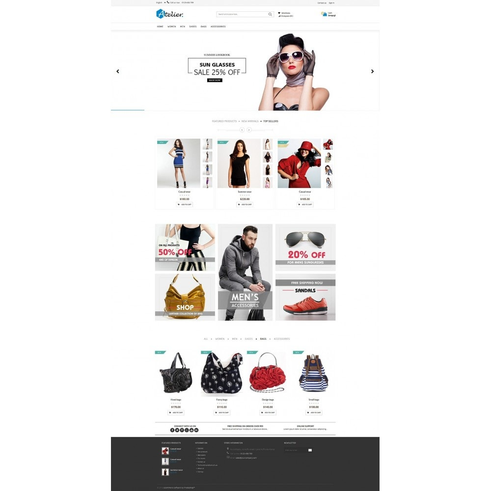 theme - Moda y Calzado - Atelier Fashion Multipurpose HTML5 - 10