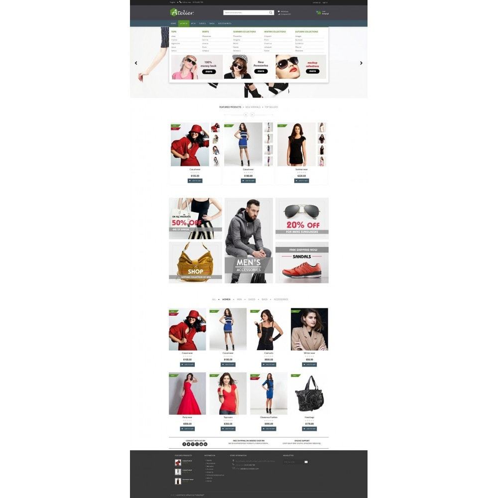 theme - Mode & Schoenen - Atelier Fashion Multipurpose HTML5 - 13