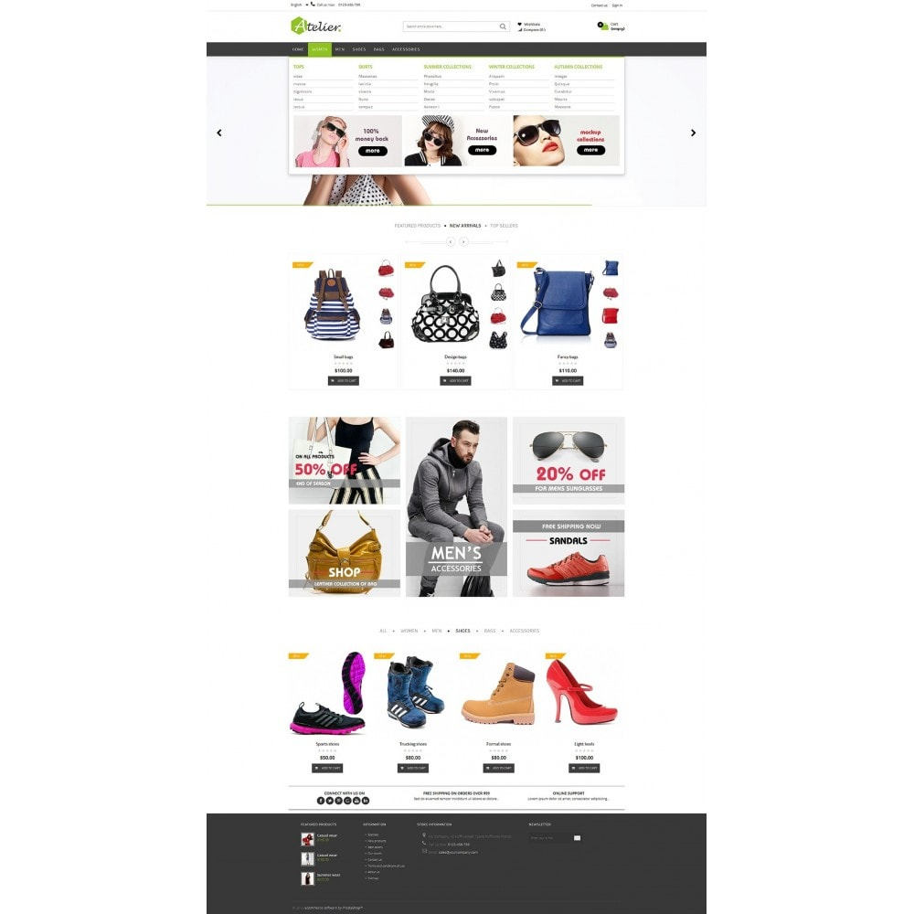 theme - Mode & Schoenen - Atelier Fashion Multipurpose HTML5 - 14