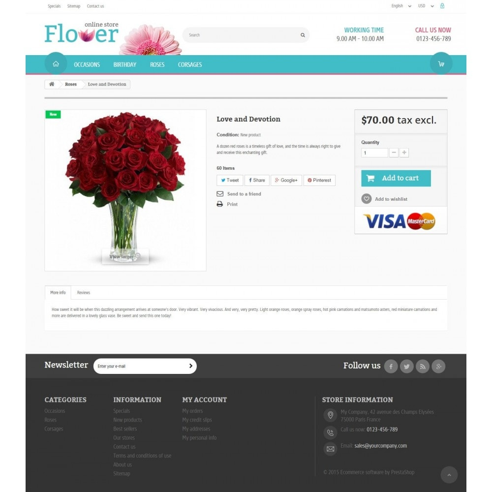 theme - Regali, Fiori & Feste - Flower Online Store - 6