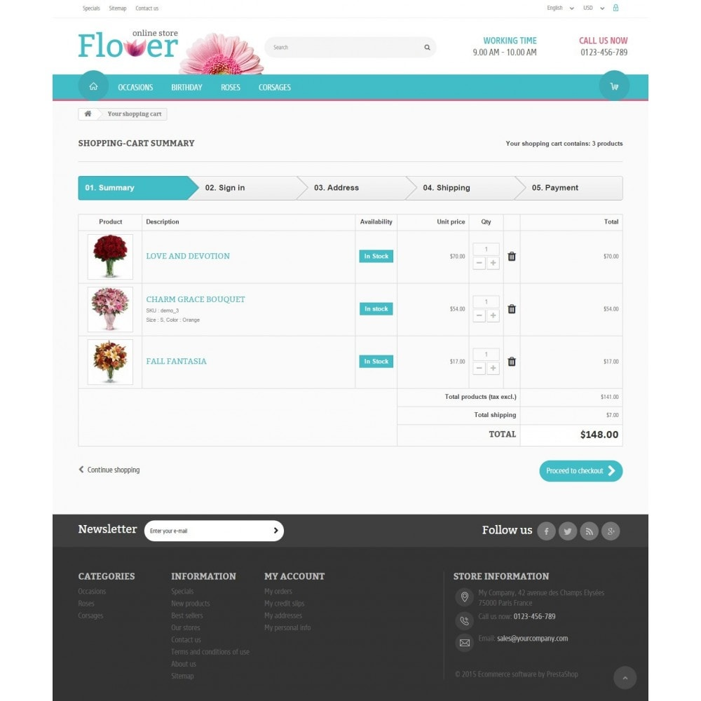 theme - Gifts, Flowers & Celebrations - Flower Online Store 1.6 Responsive - 8