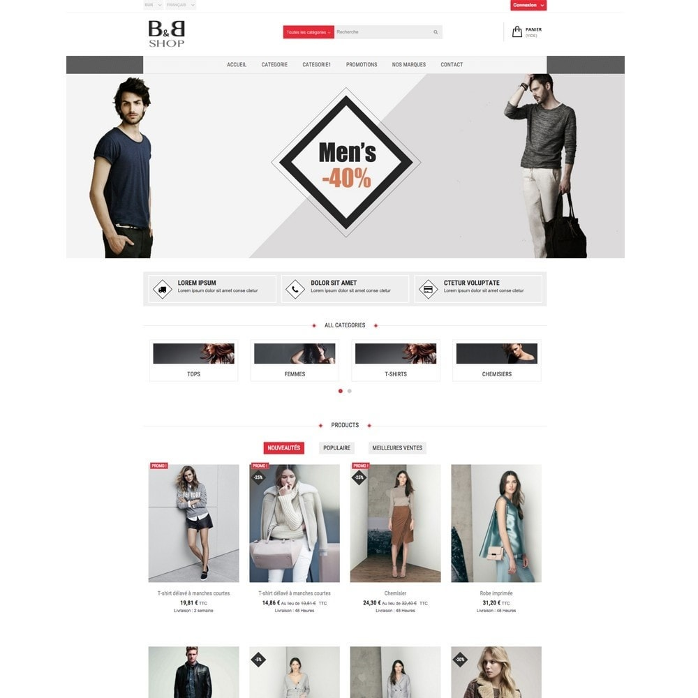 theme - Fashion & Shoes - B&B SHOP - 7