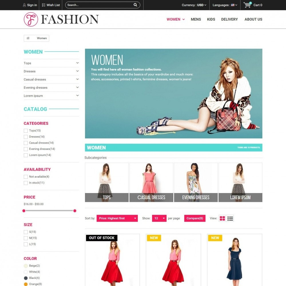 theme - Fashion & Shoes - Fashion Style - Сlothes Store - 3