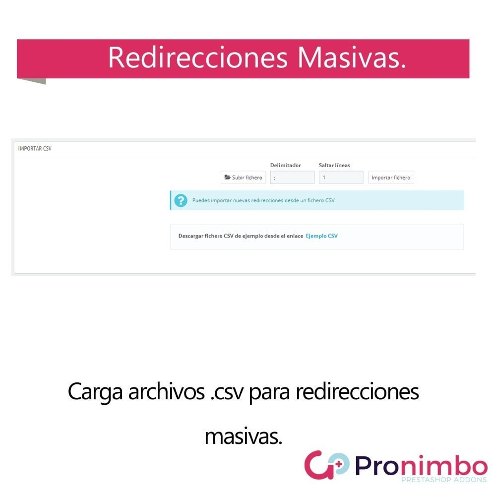 module - URL y Redirecciones - Seo Center: Redirecciones 301 / 302 - 5