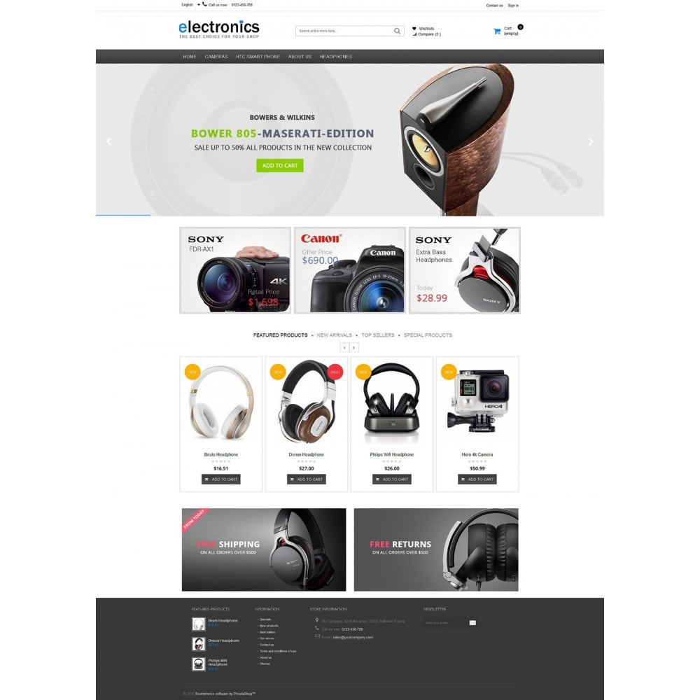 theme - Elektronica & High Tech - Electronics shop - 8