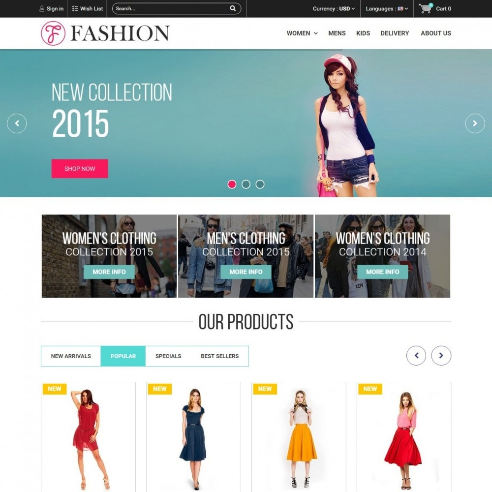 theme - Mode & Schuhe - Fashion Style - Сlothes Store - 3