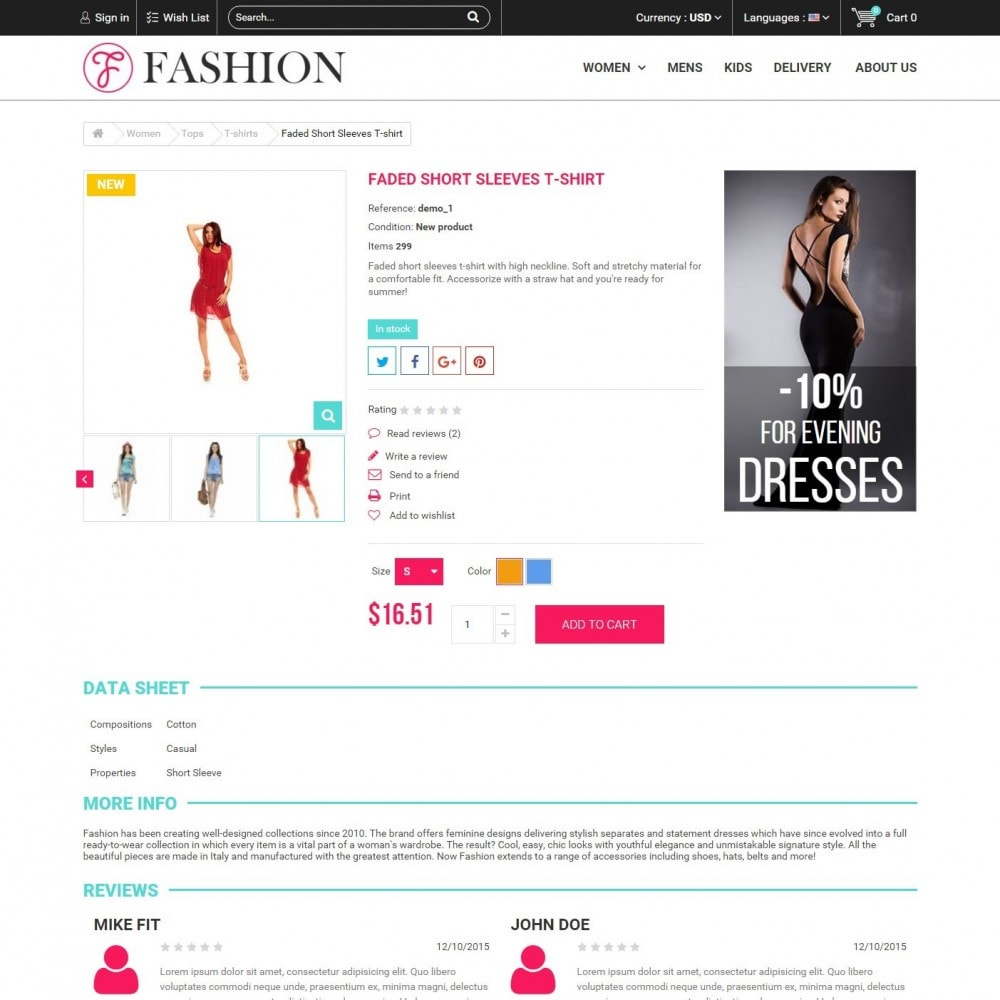 theme - Mode & Schuhe - Fashion Style - Сlothes Store - 5