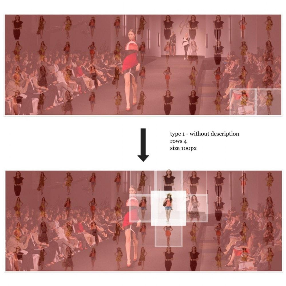 module - Sliders y Galerías de imágenes - Efecto de proximidad - Ideas de presentaciones - 3