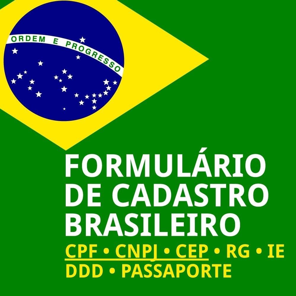 module - Pегистрации и оформления заказа - Brazilian Registration - 1