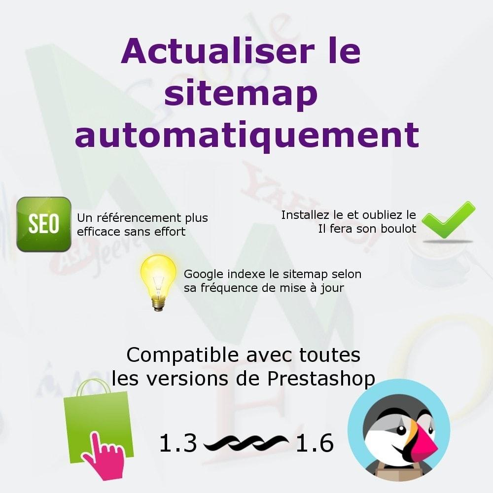 module - SEO (référencement naturel) - Actualiser le fichier sitemap - 1