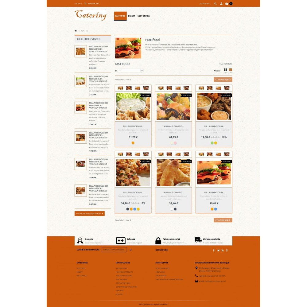 theme - Lebensmittel & Restaurants - Catering - 2
