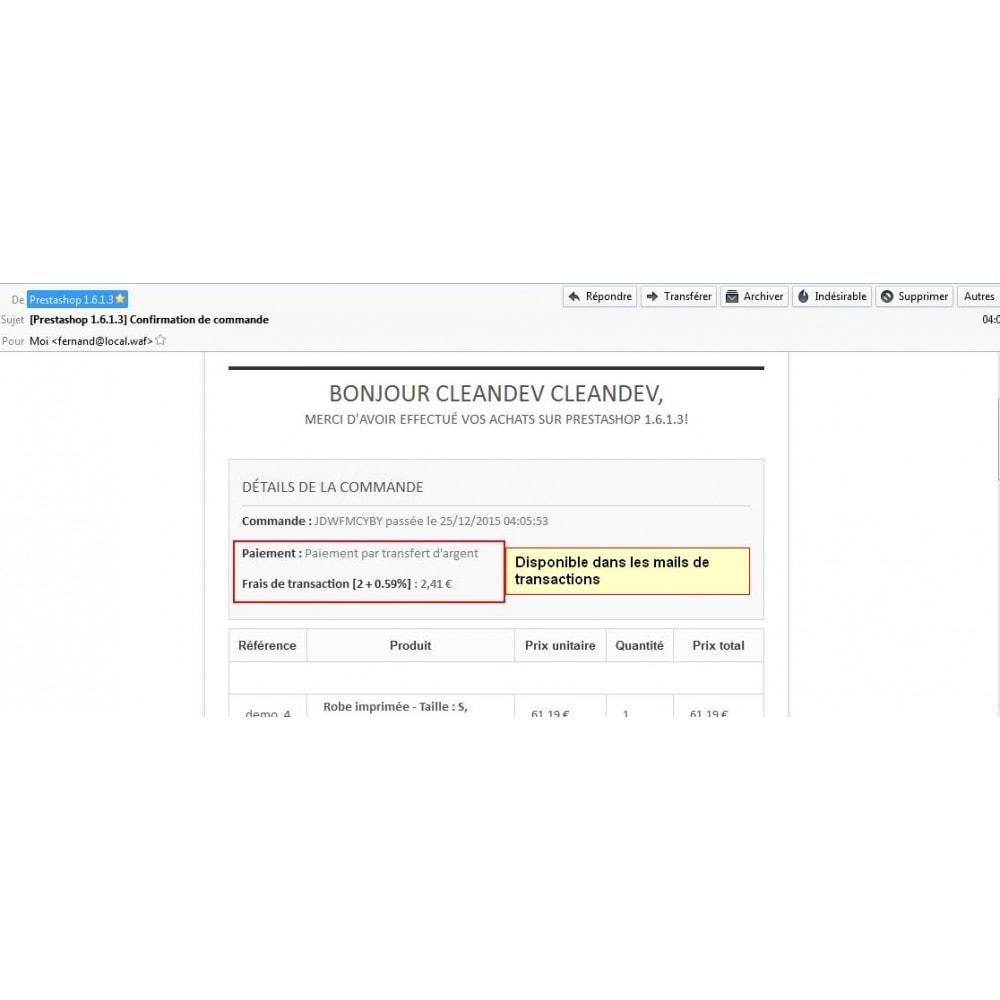 module - Autres moyens de paiement - Paiement par transfert d'argent - 12
