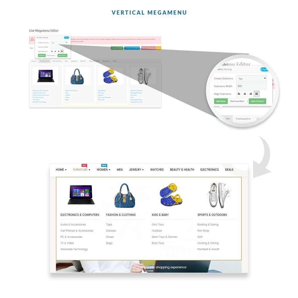 theme - Мода и обувь - Ap E-market - 6