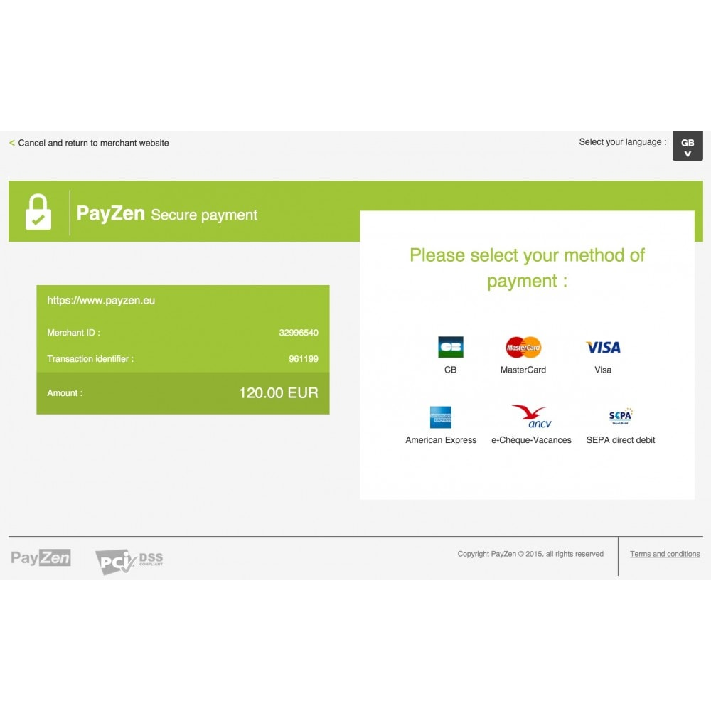 module - Creditcardbetaling of Walletbetaling - Advanced Payment Gateway by Altireo - 2