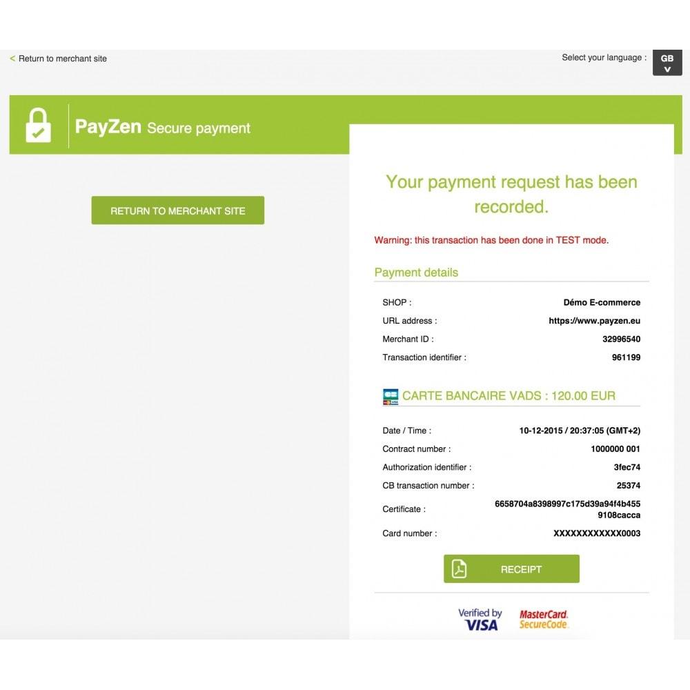 module - Pago con Tarjeta o Carteras digitales - Advanced Payment Gateway - 4