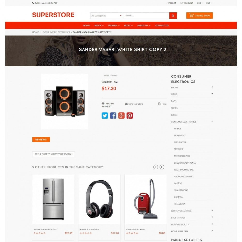 theme - Электроника и компьютеры - Supermarket - Appliances, Electronics & Fashion Store - 6