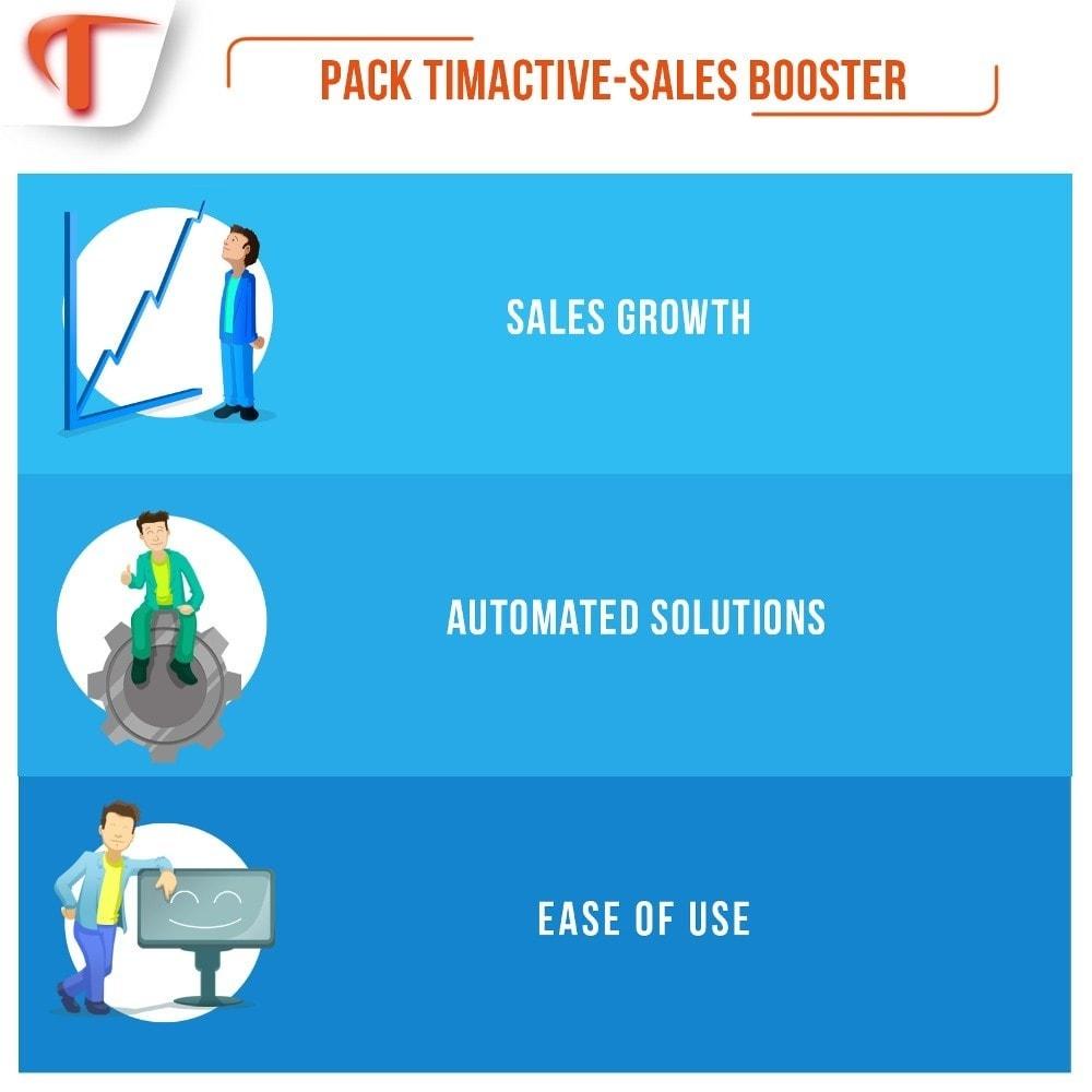 bundle - Remarketing & Achtergelaten winkelmanden - Sales Booster Pack - 1