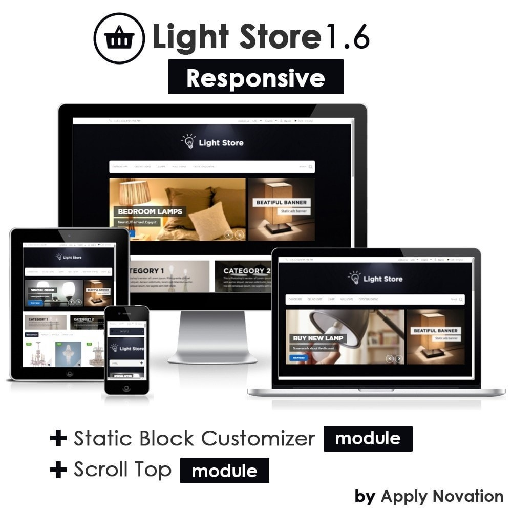 theme - Casa & Giardino - Light Store - 1