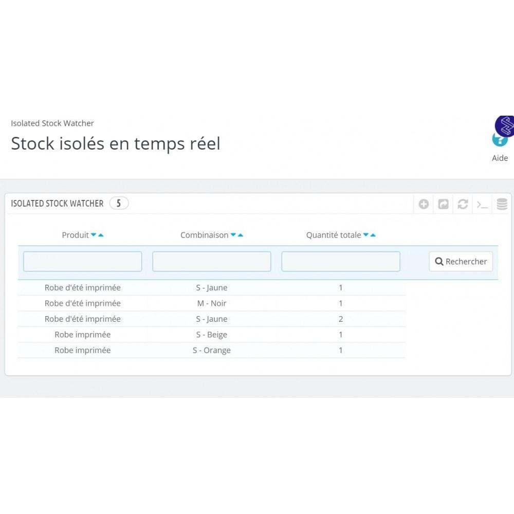 module - Gestion des Stocks & des Fournisseurs - Réservation temporaire de produit - LonelyStock - 5