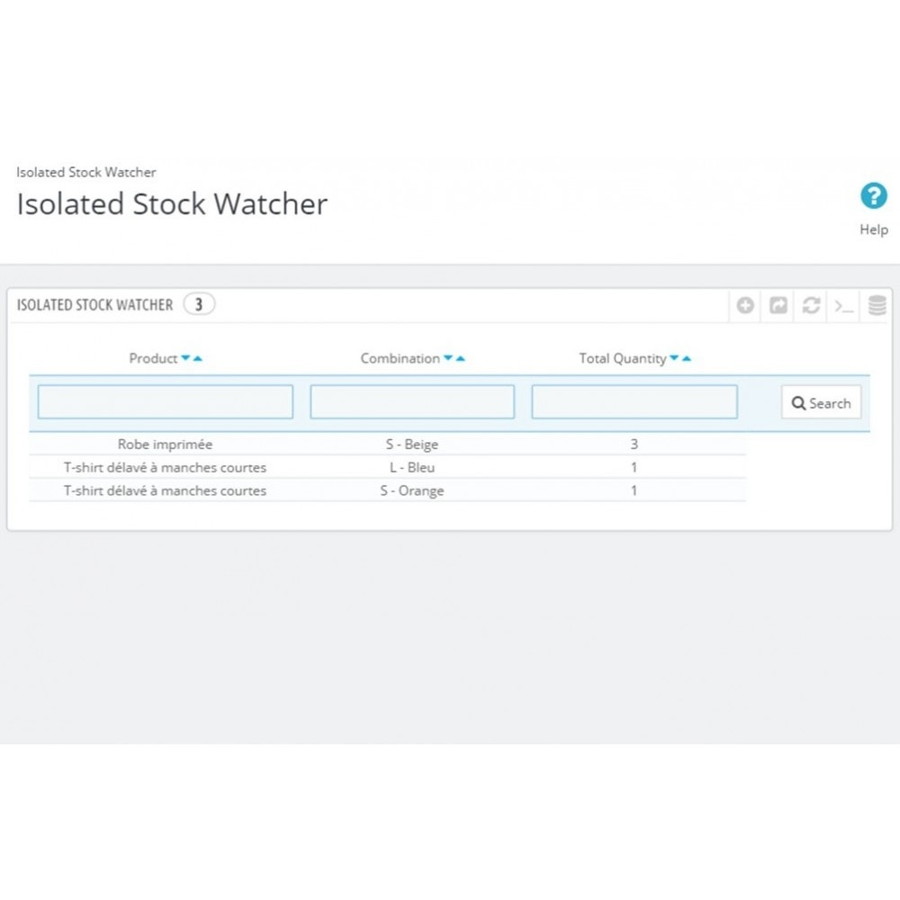 module - Stock & Supplier Management - Temporary product reservation - Lonely Stock - 3