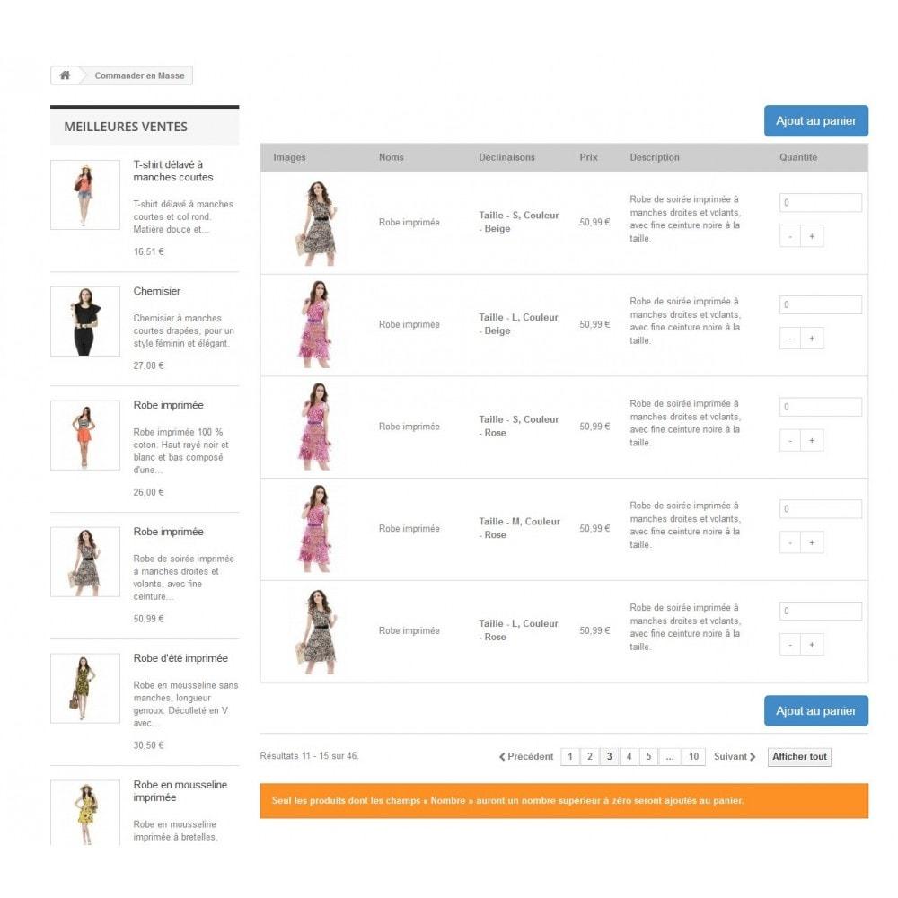 module - Pегистрации и оформления заказа - To order in mass - 3