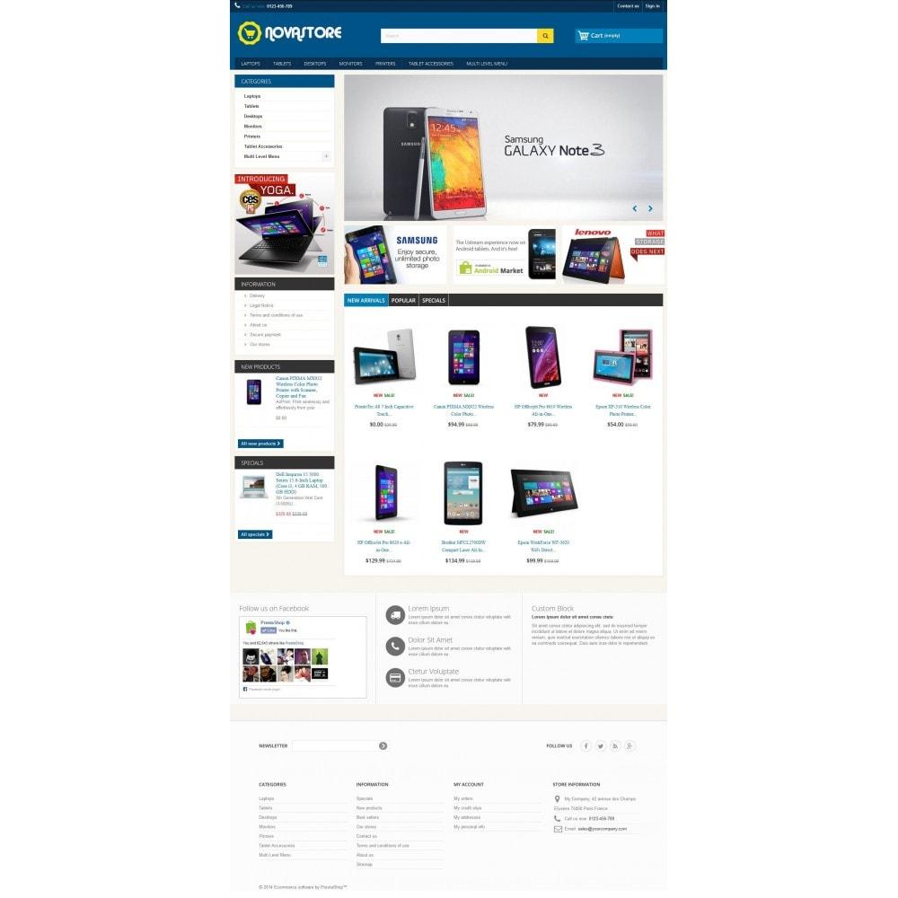 theme - Elettronica & High Tech - Nova Store 1.0.1 - 1