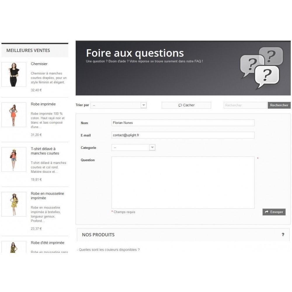 module - FAQ (questions fréquentes) - FAQ Users - Foire aux Questions - 4