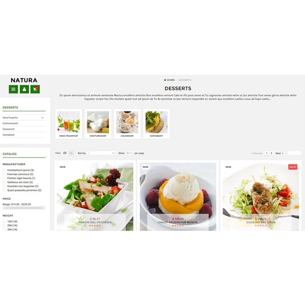 theme - Lebensmittel & Restaurants - Natura - 3