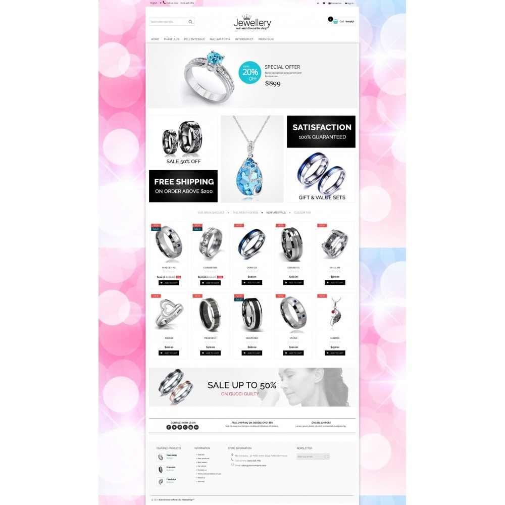 theme - Schmuck & Accesoires - Jewellery Multipurpose HTML5 - 7