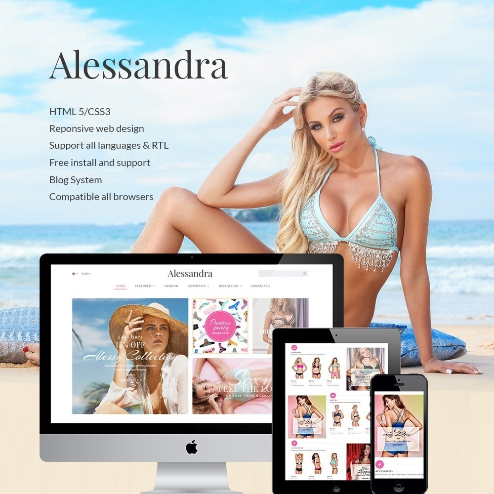 theme - Lenceria y Adultos - Water Bikini Shop - 1