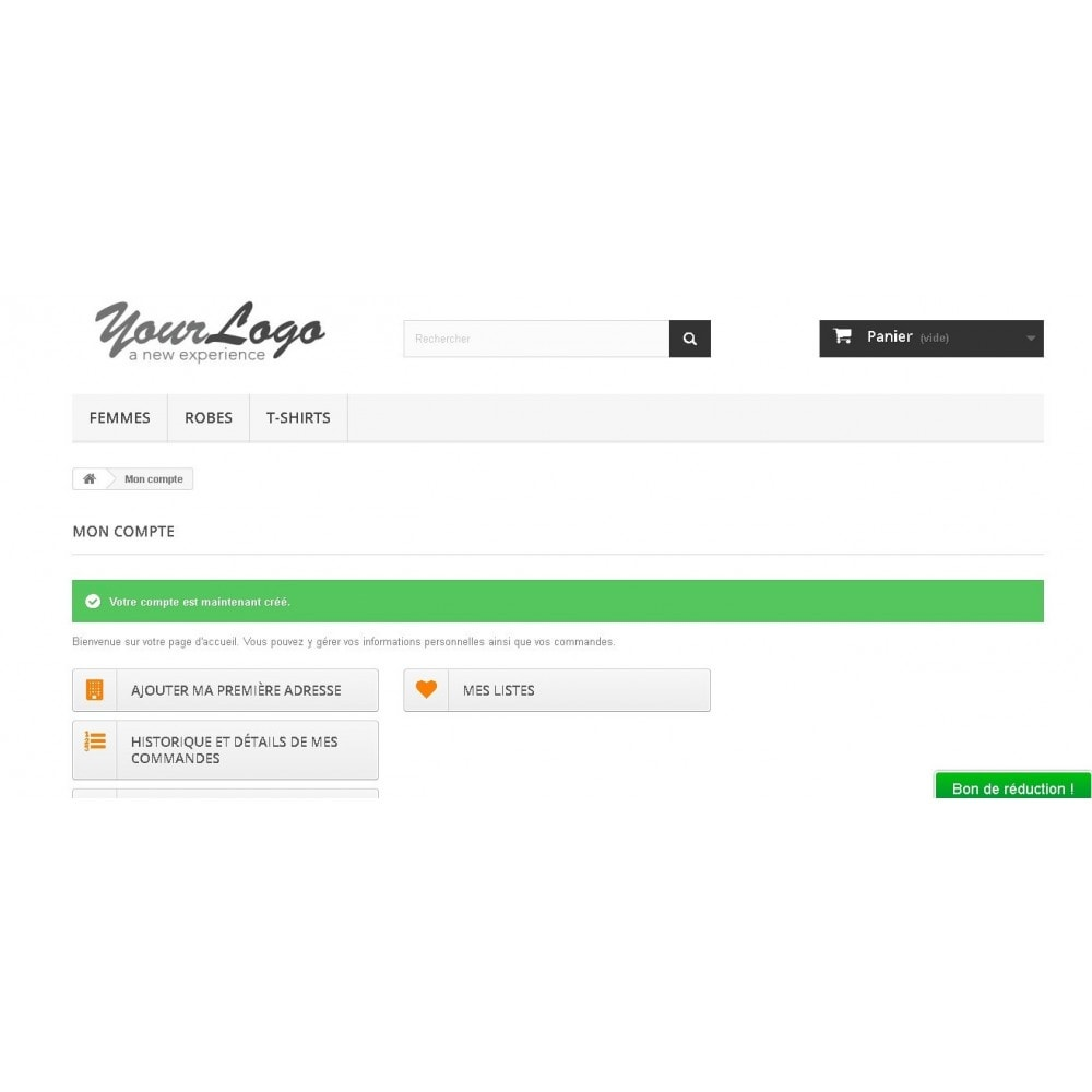 module - Gestion des clients - Inscription client en tant que pro - 2