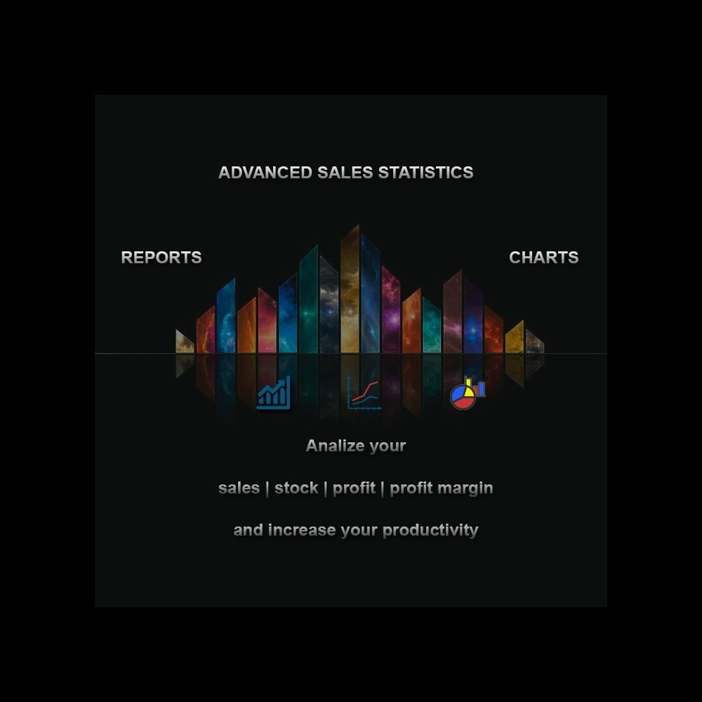 module - Analyses & Statistieken - Advanced Sales Statistics (tax, margin, profit reports) - 1