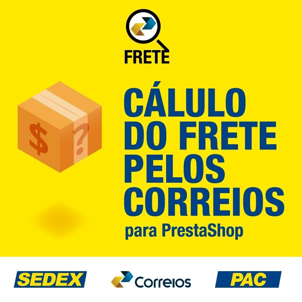 module - Versanddienstleister - Shipping cost calculation by the Brazilian Correios - 1