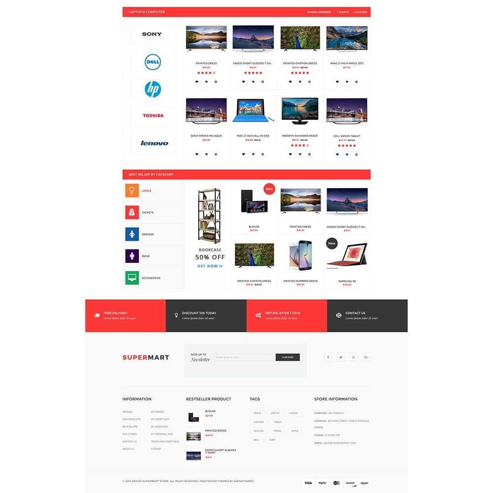 theme - Электроника и компьютеры - Supermart Hightech Responsive - 3