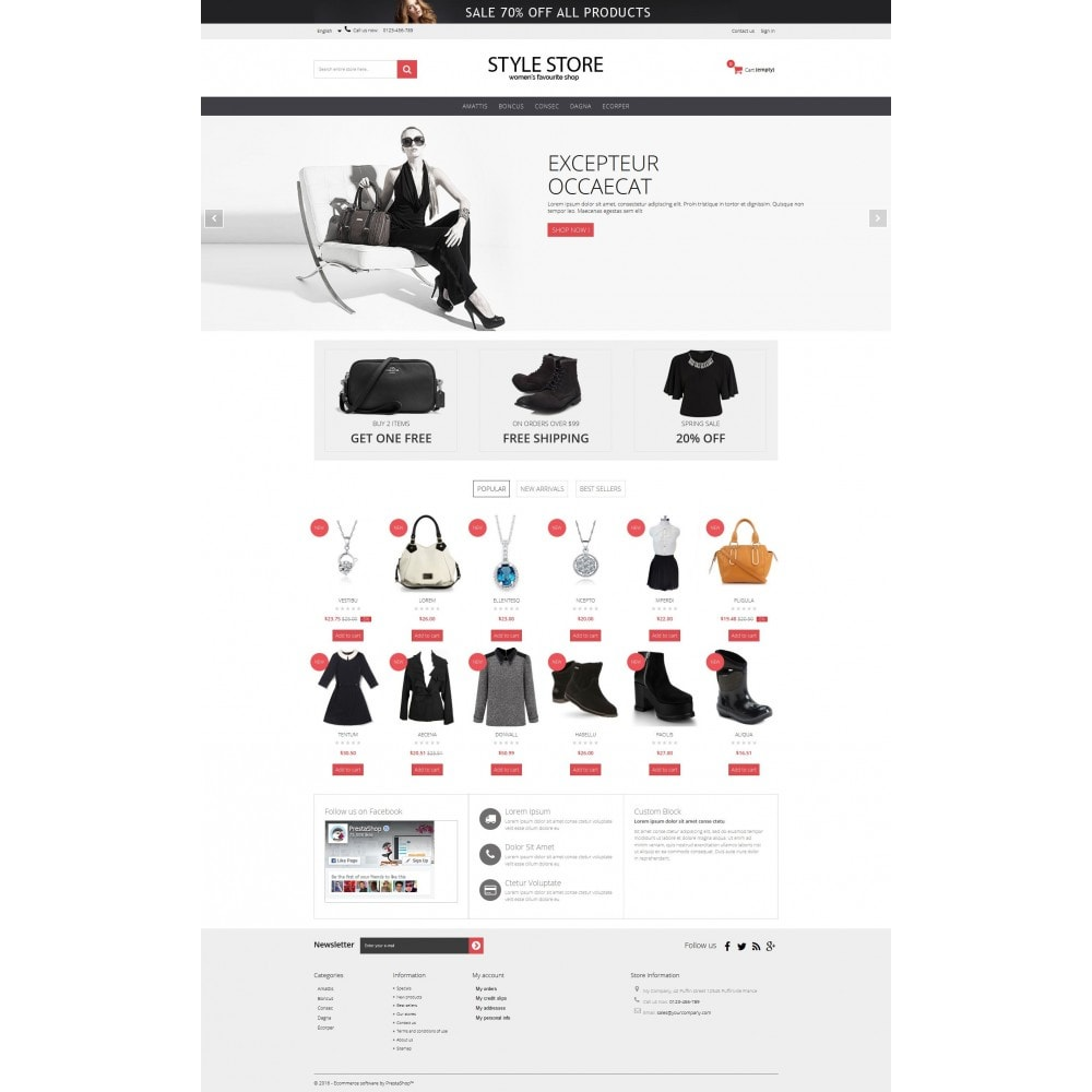 theme - Mode & Schoenen - Style Fashion Store HTML5 - 6