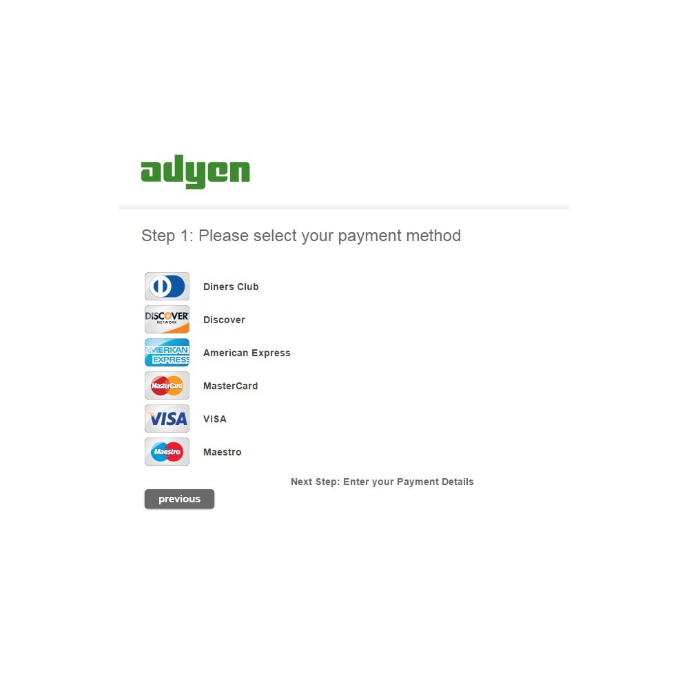 module - Payment by Card or Wallet - Adyen Payment - 4
