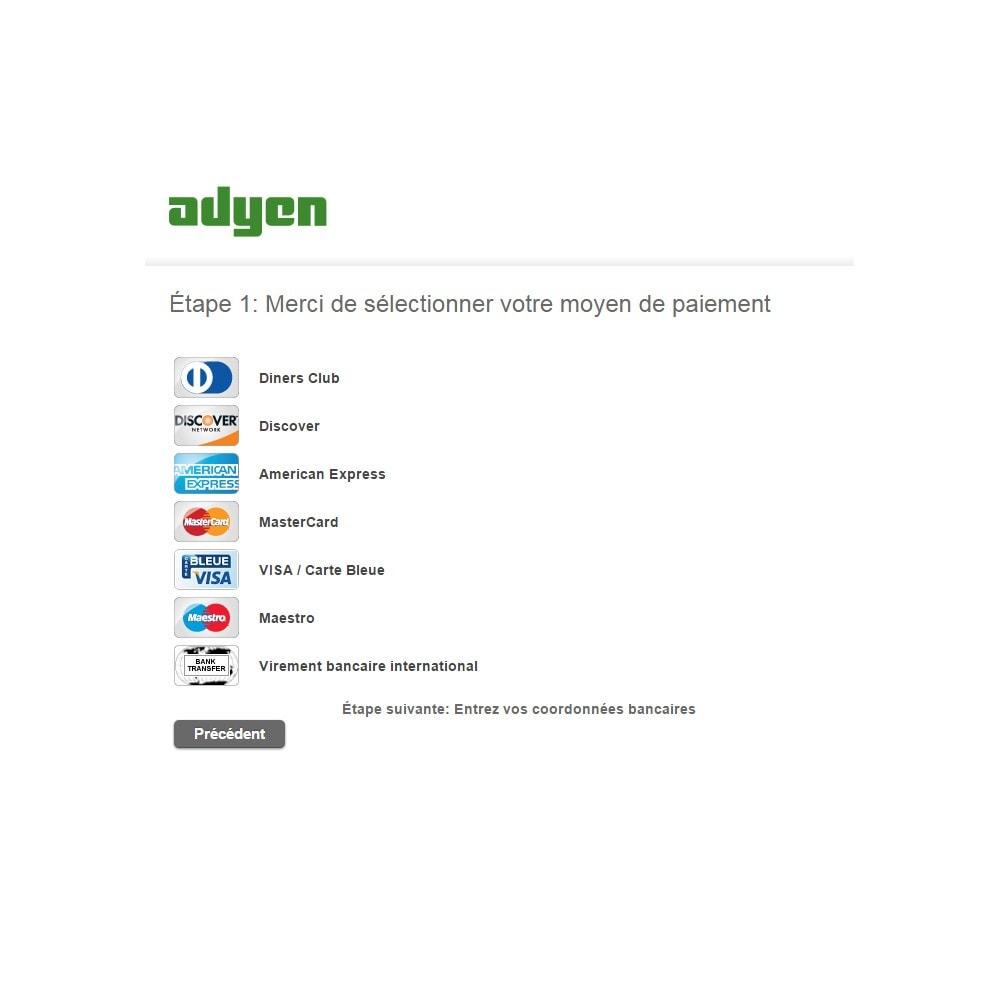 module - Paiement par Carte ou Wallet - Paiement Adyen - 4