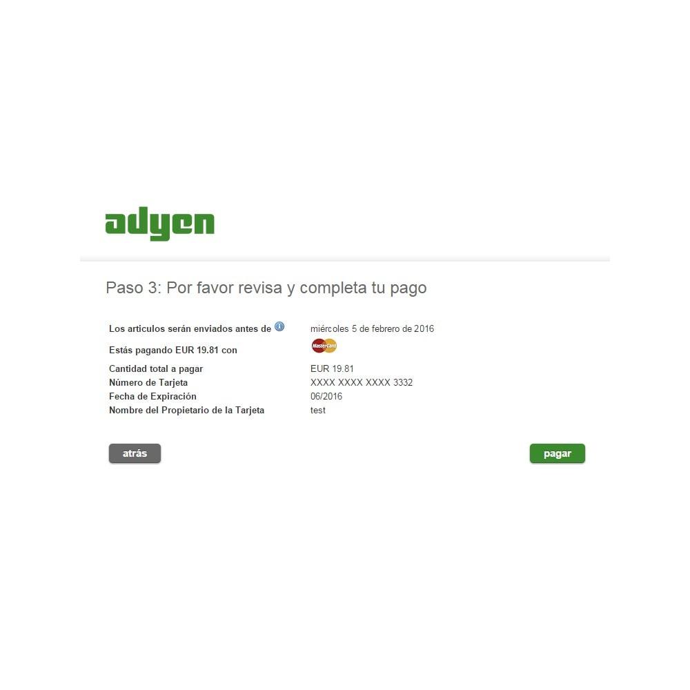 module - Pago con Tarjeta o Carteras digitales - Pago Adyen - 6