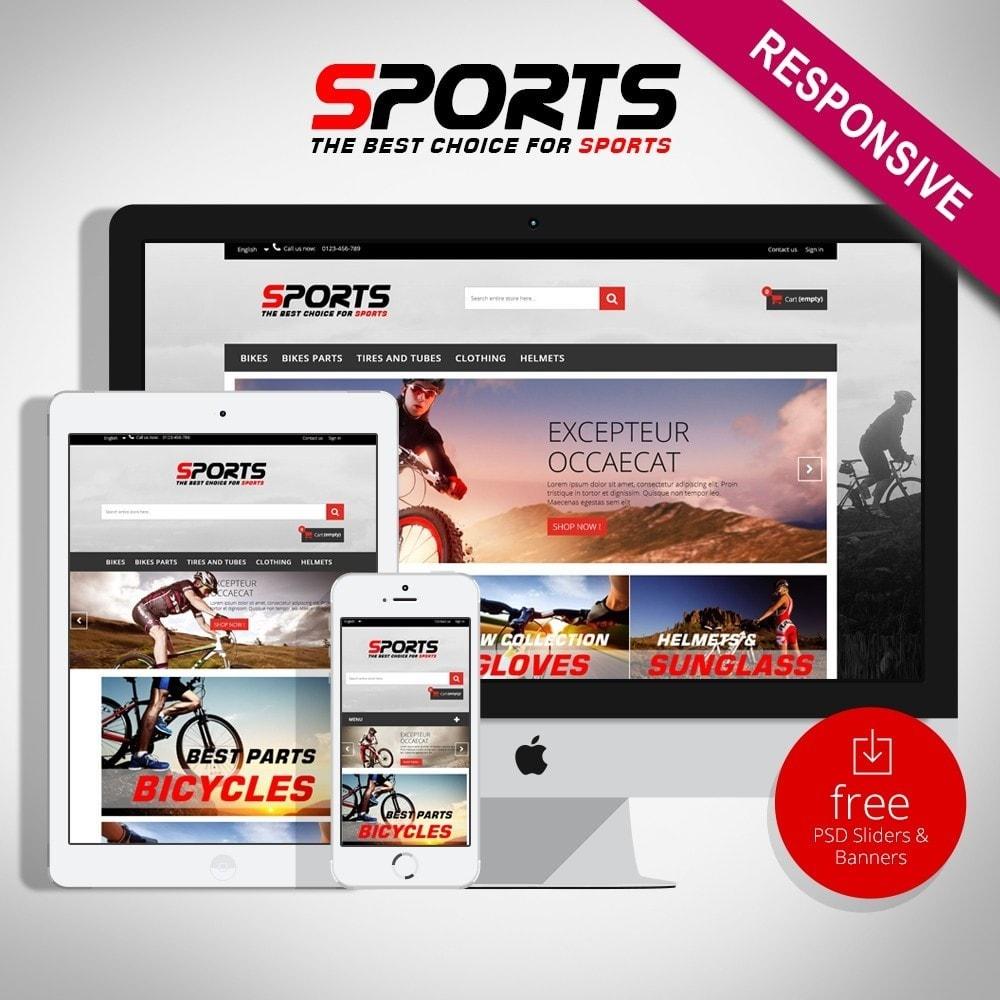 theme - Sport, Loisirs & Voyage - Sports Multipurpose HTML5 - 1
