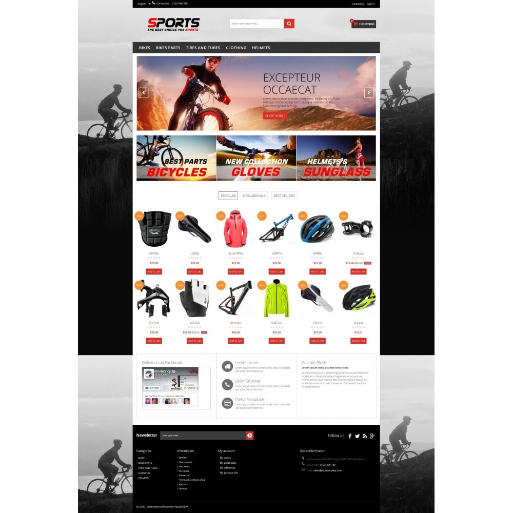 theme - Sport, Loisirs & Voyage - Sports Multipurpose HTML5 - 2