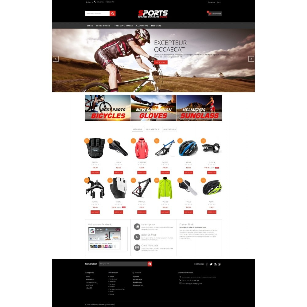 theme - Sport, Loisirs & Voyage - Sports Multipurpose HTML5 - 3